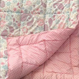 PBK comforter/sham